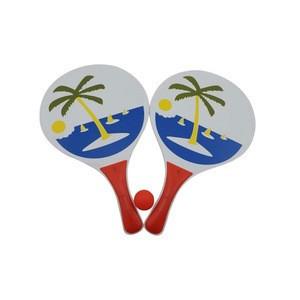 Beach Equipment Professional Beach Bat Sport/ Paddle / Racket for Training Wooden Beach Racquet