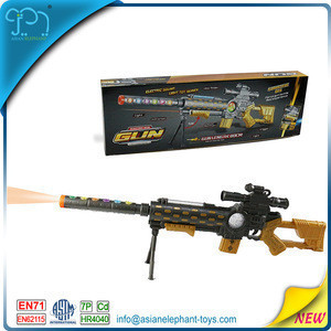B/O Light Gun For 2017 New Toy Gun Light And Sound With Infrared Laser