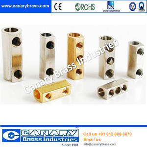 Brass connector plug insert pin :Brass Electrical Parts