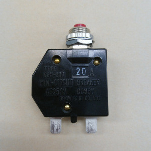 CBM-200 Thermal Mini Wireless Circuit Breaker Types With A Manual Reset Button