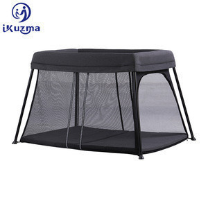 China Wholesale 3 In 1 Baby Playard  Newborn Cobabies Fashionable Luxury Foldable Baby Crib Travel Cot Foldable Baby Playpen