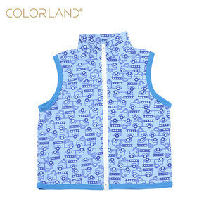 Colorland light & warm baby fleece waistcoats polar fleece vests for kids
