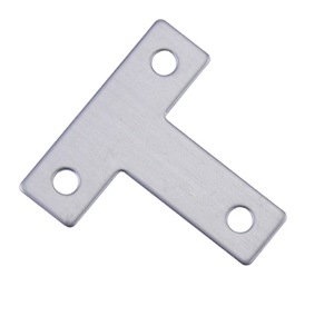 Custom T shaped Zinc-plated metal stainless steel angle corner brackets for sale