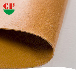 Custom thickness artificial kinds color PU synthetic leather fabric for bags surface