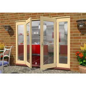 Exterior soundproof glass with handles aluminum windows and doors