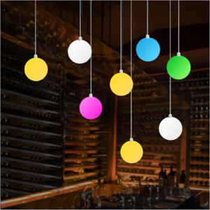 Festive event and party wedding decorative LED hanging ball lamp for indoor or outdoors