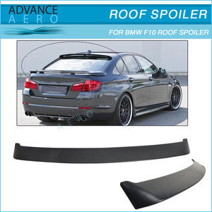For BMW F10 2010-2012 5-SERIES 4DR SEDAN H STYLE CARBON FIBER ROOF SPOILER WING
