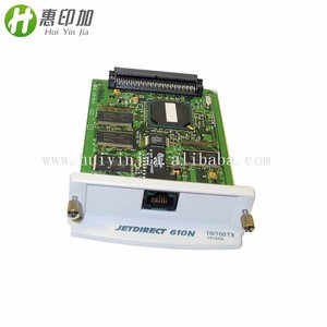High Quality Network Card For HP Jetdirect 610N 10/100TX J4169A Printer Spare Parts in Stock