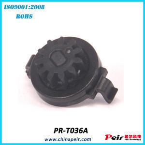 Home appliance hydraulic bi directional rotational damper plastic gear shift cylinder rotary damper