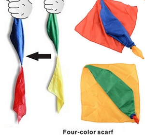 Hot New Change Silk scarf color for magic trick by  magic trick Toys Gift Random Support Tools
