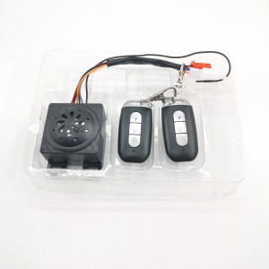 Hot sell smart alarm  keyless motorcycle system alarm from  factory in China