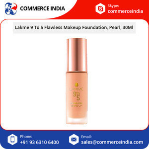 Hot Selling Lakme 9 To 5 Flawless Makeup Foundation in Pearl 30ml Bottle