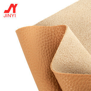 JINYIPVC Leather litchi grain leather For Making New Design women Handbag sofa luggage,car floor car interior leather