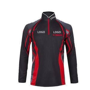 Joyord wholesale fishing hoodie printed long sleeve tee t-shirts for fishing t shirts quick dry custom uv protection uv shirts