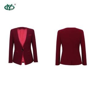 Latest design custom made women formal uniform ladies uniform workwear