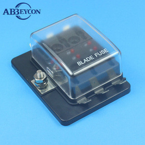 Low price Waterproof inline fuse holder / block / box in fuse components