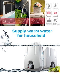 Mini Vertical Wall-Mounted Storage Electric Water Heater for bathroom