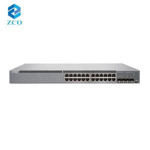 New original 24 port 10/100/1000 Managed Juniper Gigabit Ethernet Network Switch EX3400-24T