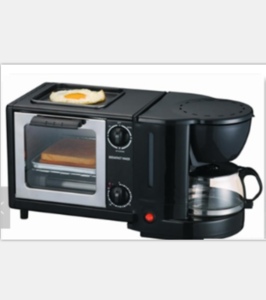 Pizza maker pizza oven electric oven 3 in 1 breakfast maker frying pan coffee maker WD-356