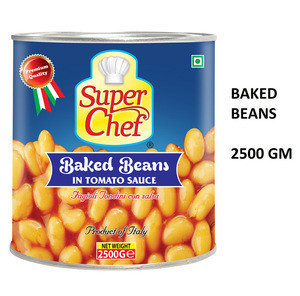 SINGAPORE FOOD SUPPLIES SUPER CHEF BAKED BEANS IN TOMATO SAUCE