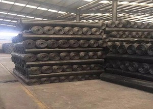 Steel Plastic Composite  Geogrid Biaxial geogrids for mine false ceiling