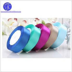 Supply Solid Color Satin Ribbon and wedding belts, white wedding dress red ribbon