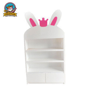 Toy display cabinet showcase book shelf kids furniture wholesale