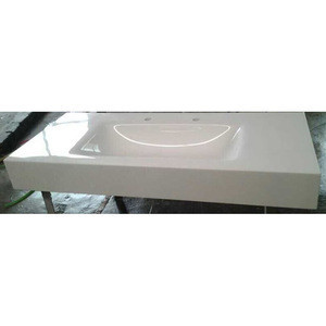 Used counter tops manufacturers crystallized hotel bathroom nano vanity top