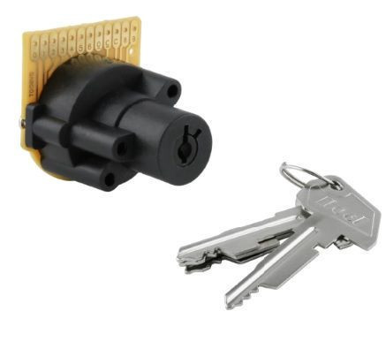 AS608 8 sections PCB key switches lock for POS