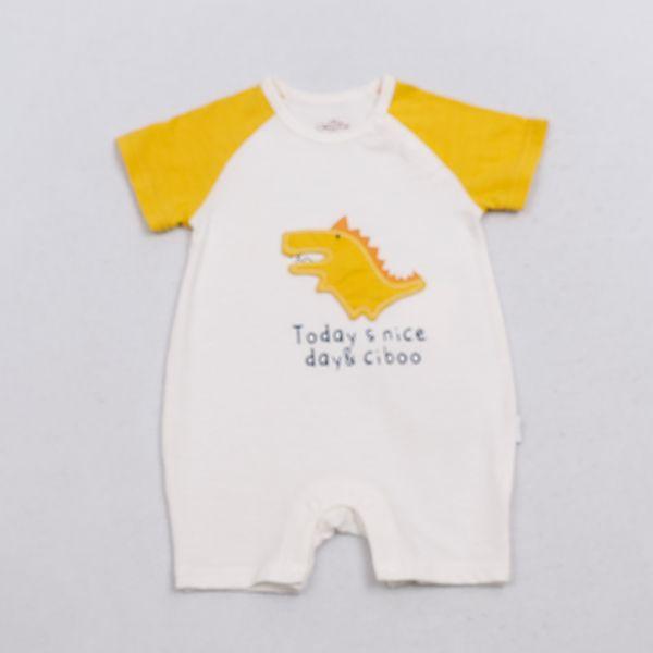 Short Sleeve Baby Romper