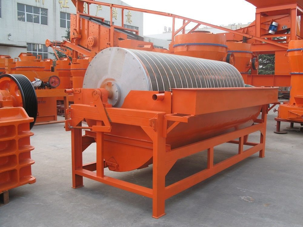 Iron Removing Permanent Magnetic Separator
