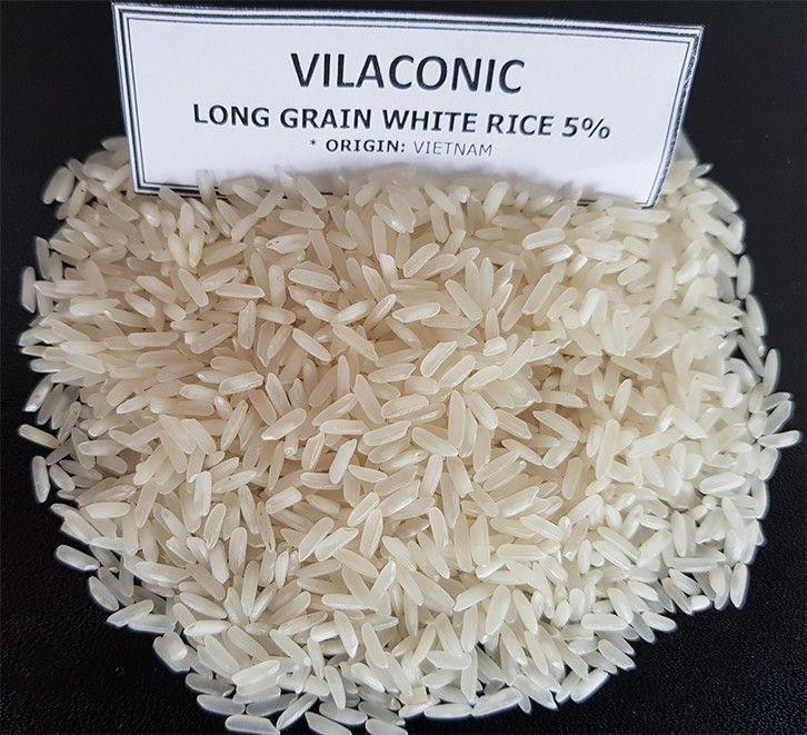 Long Grain White Rice 5% - 100% Vietnam < WA: +84 938969380 >