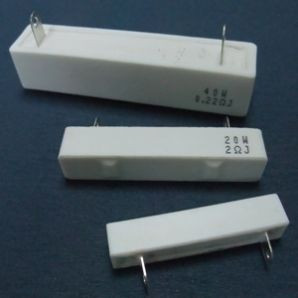 Horizontal Cement Fixed Resistor - SQH