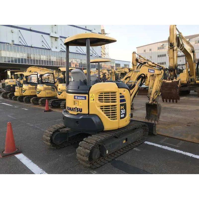 Japanese Used Construction Machinery. Komatsu, Hitachi