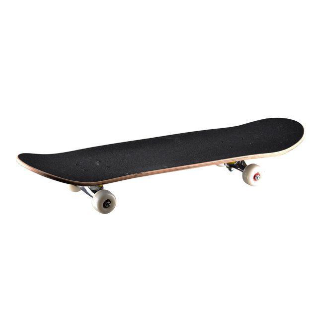 4 Wheels Wood Skateboard