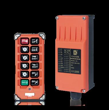 G200-E2B-8  telecrane radio industrial wireless remote control for electric hoist