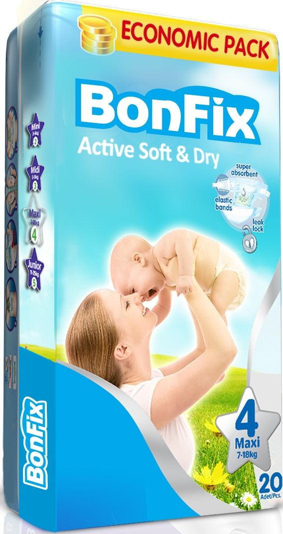 Baby Diaper Eco Pack