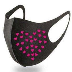 Hot stamping for environmental protection cloth masks