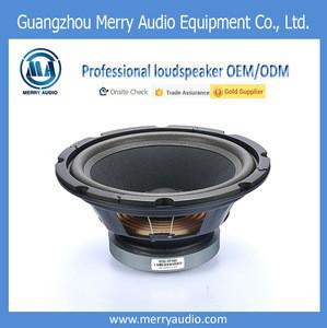 10 inch 65 mm voice coil 8 ohm music player sound box speaker driver