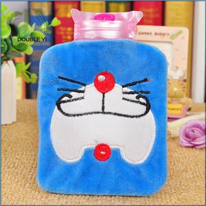 10.5cm * 14.5cm Mini Hot Water Bottle Stuffed Hand Warmer Bag