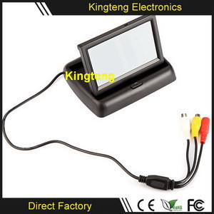 5 Inch TFT Lcd CCTV Monitor 4.3 Inch 7 Inch in Dash Car TV Monitor