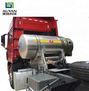995 L vehicle LNG cylinder pressure vessel, cryogenic cylinder for truck