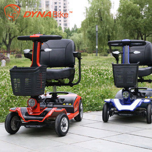 Adult folding 4 wheels disabled trike electric handicapped scooter
