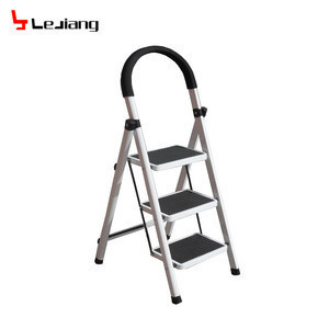 Agility step folding ladder