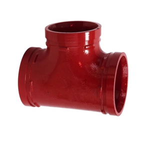 ASTM Ductile Iron Pipe Fitting and Grooved Equal Tee