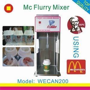 Best sales mc flurry ice cream maker mixer machine with sales