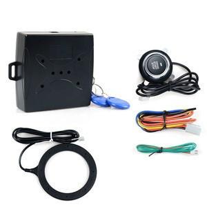 Car Alarm Security Alarm Anti-theft System Remote Control Smart Pke Rfid Start Stop Button RFID Engine Lock Ignition Starter