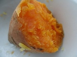 China xi chong The organic food High vitamin yellow heart sweet potato