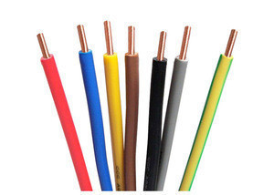 Copper conductor Flexible stranded or solid PVC Insulated electrical Wire