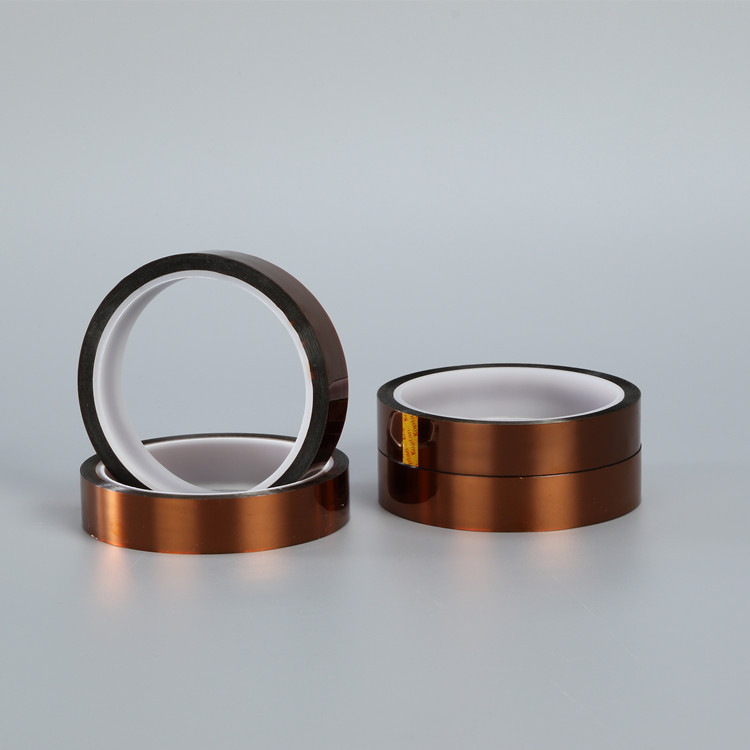 Copper Silicone Kaptone Polyimide Film Electrical Tape